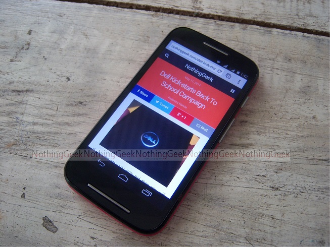 Motorola Moto E Hands On Review