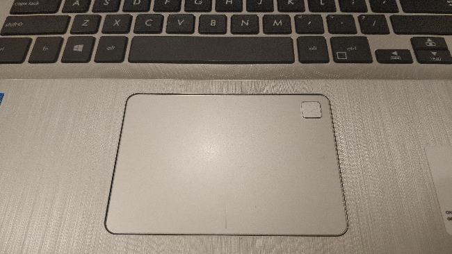 asus x507u touchpad