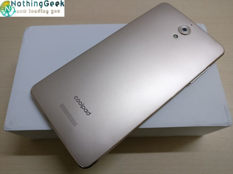 coolpad mega 2.5d backside