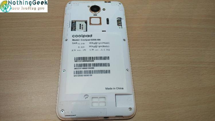 coolpad note 3 lite sim card tray